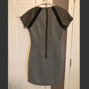 Lucca Couture Dresses - Bodycon Striped Dress (Lucca Couture)